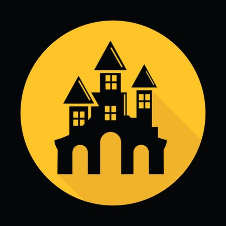 7,736 Haunted House Stock Illustrations, Cliparts And Royalty Free.