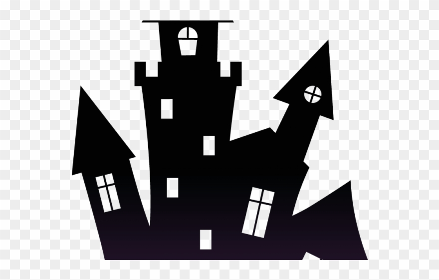 Haunted House Clipart Village.
