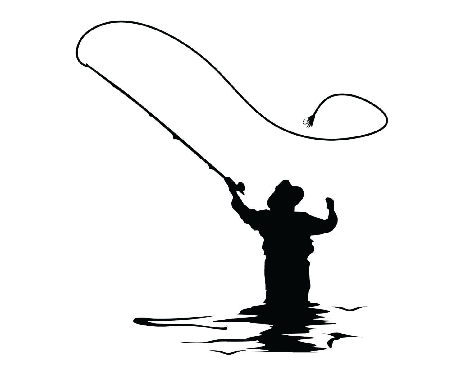 Popular items for fly fishing sticker on Etsy.