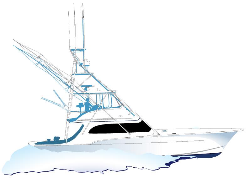 Sport Fishing Clipart.