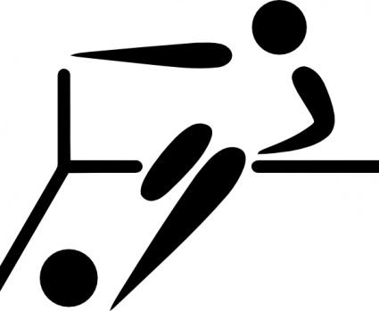 Sports symbols clip art at clker com vector clip art.