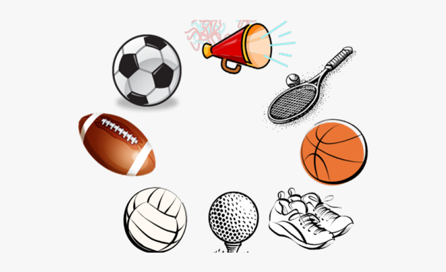 Sports Equipment Clipart Girl Sport.
