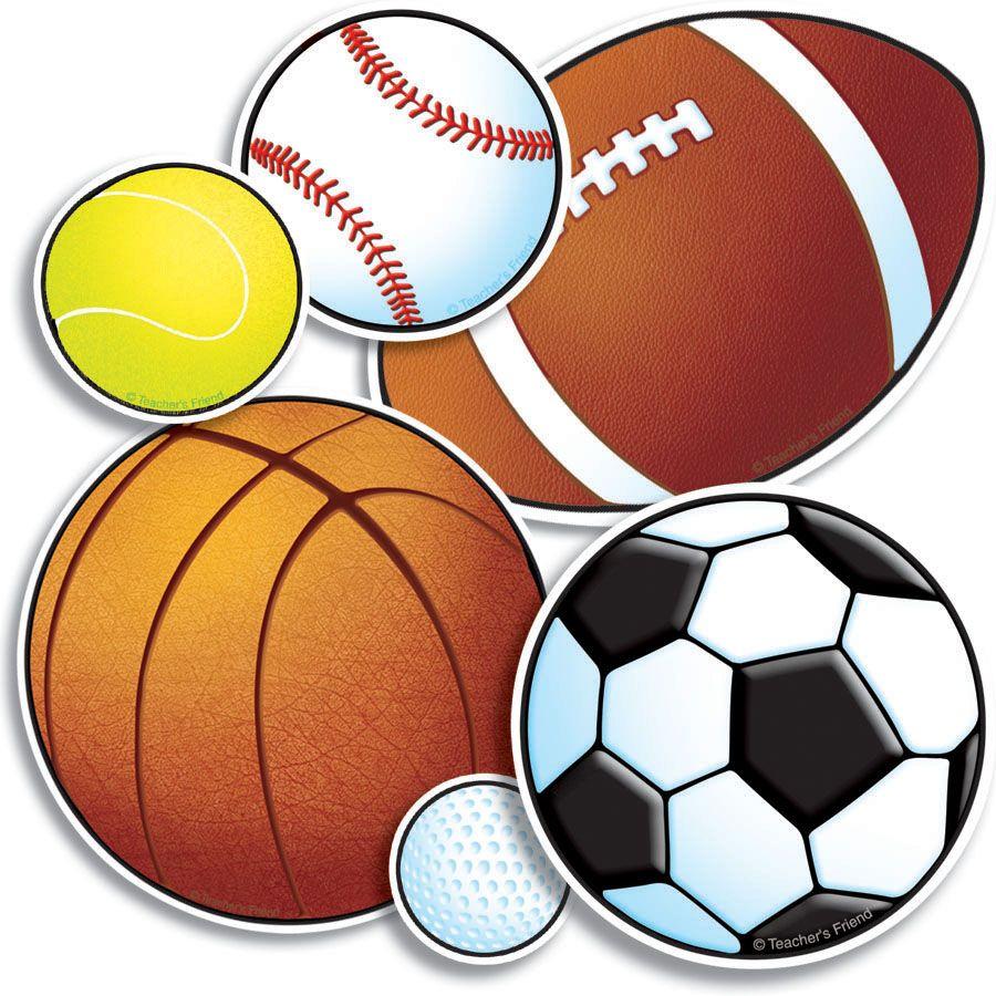 Pix For > Sports Balls Clipart.