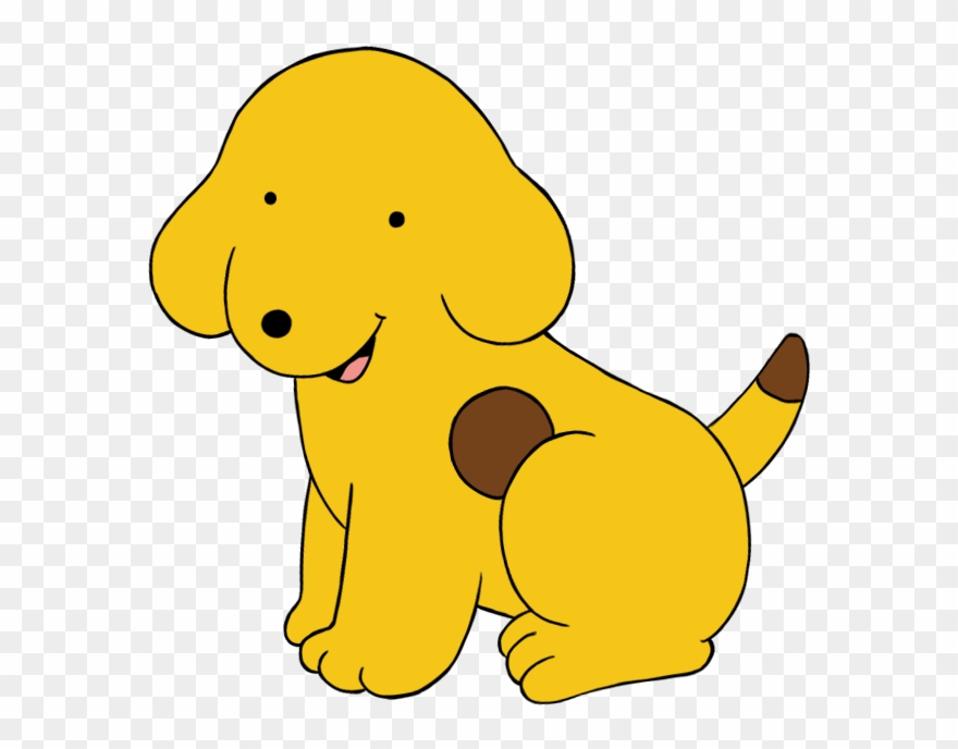 Yellow Dog Clipart.