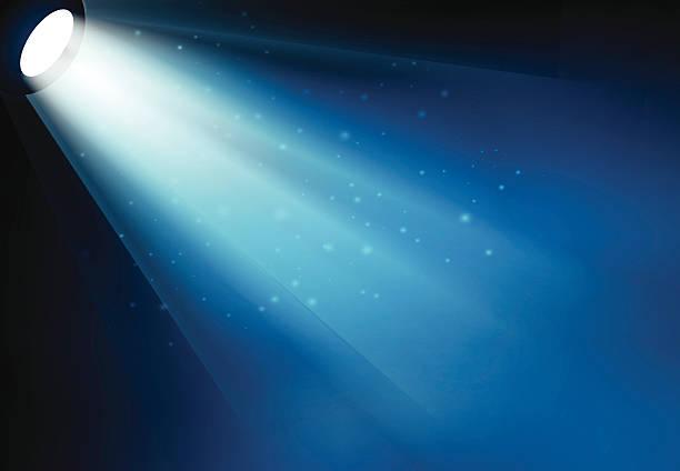 Clipart Spotlight Shining Down.