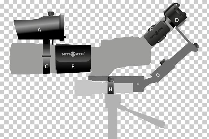 Spotting Scopes Spotter Light Night vision device, light PNG.