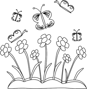 Free Spring Clip Art Black And White, Download Free Clip Art.