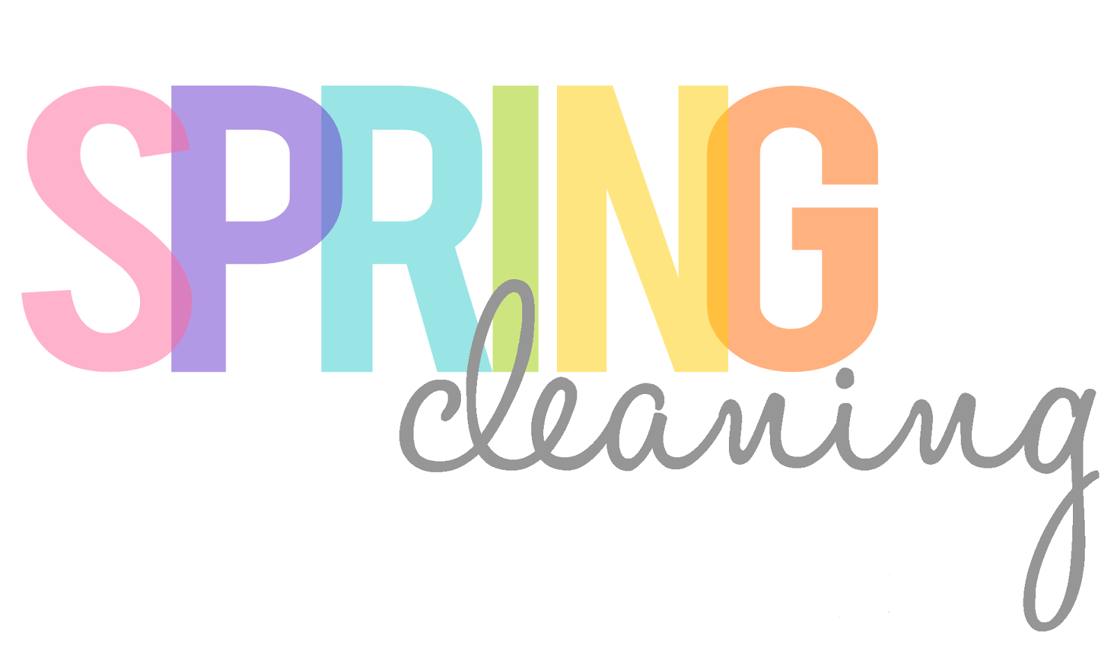 Spring Cleaning Clipart Free.