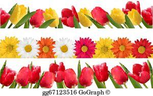 Spring Flower Clip Art.