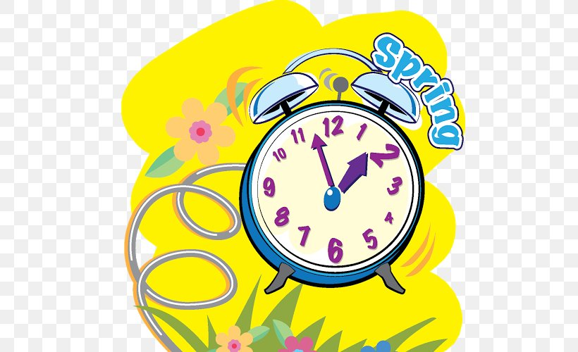 Clock Daylight Saving Time In The United States Clip Art.