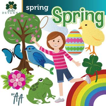 Free Spring Clip Art.