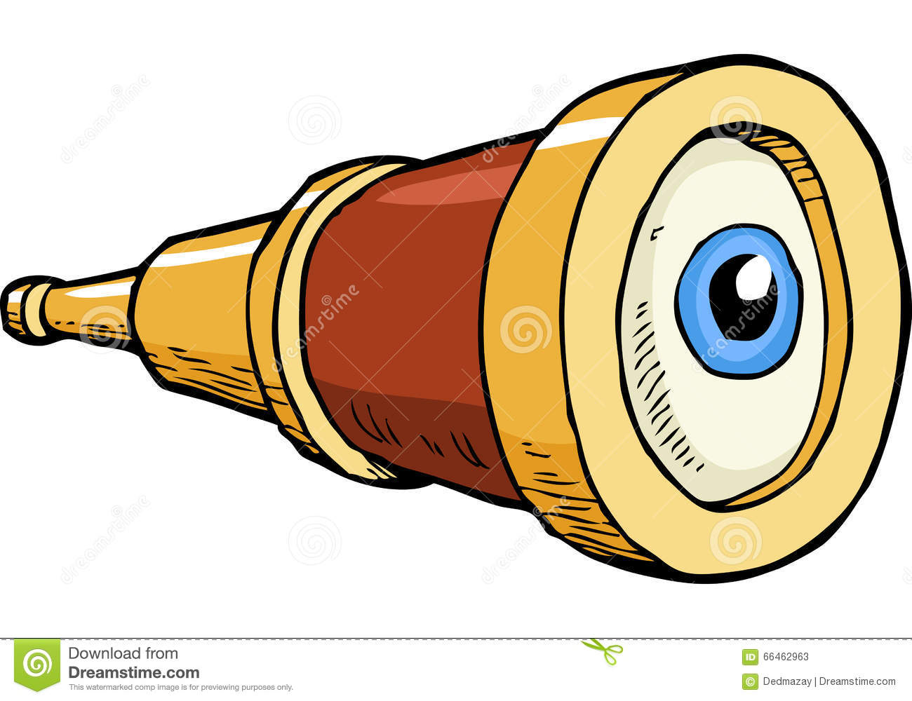 Spyglass clipart » Clipart Station.