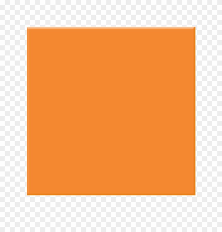 Orange Square Clipart.