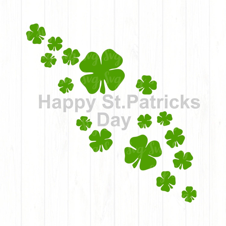 Happy St Patricks Day svg,Shamrock svg,St.Patrick's Day svg,Shamrock  clipart,Lucky tshirt,crafty cuttable,Cricut Design,Silhouette Design.