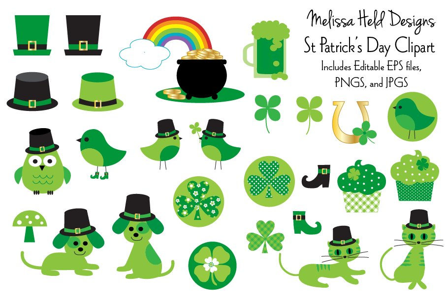 St Patrick\'s Day Clipart.
