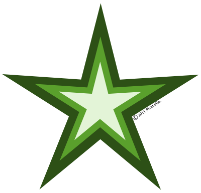 Free Green Star Images, Download Free Clip Art, Free Clip.