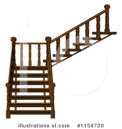 Stairs Clipart #1158720.