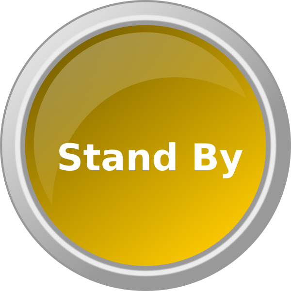 Yellow Stand By Clip Art at Clker.com.