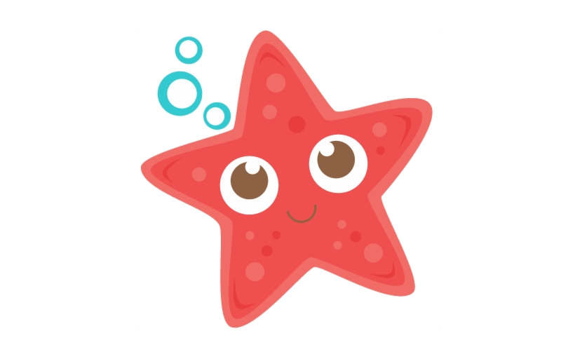 Starfish Fish Clipart Red Star Cute Free Transparent Png.