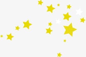 Gold Stars Floating Sky PNG, Clipart, Floating, Floating.