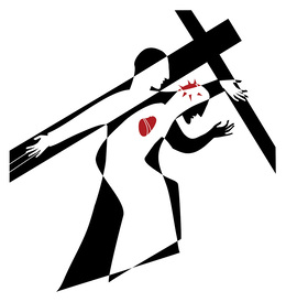 Download line drawings of the stations of the cross clipart Stations.