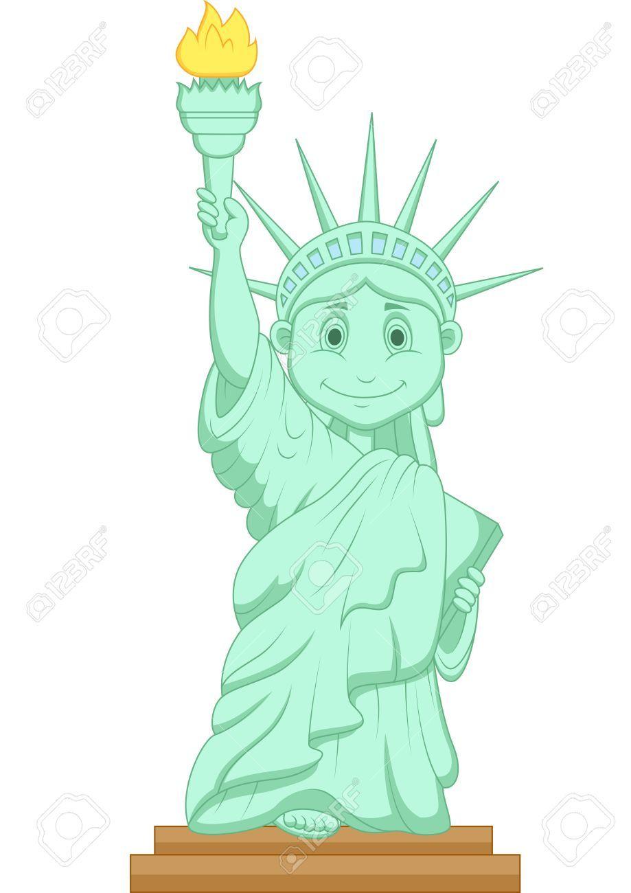 Clipart statue de la liberté 5 » Clipart Portal.