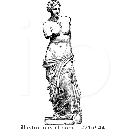 Statue Clipart #215944.