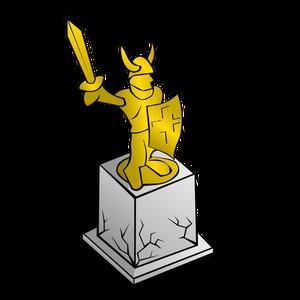 224 statue monument clipart.