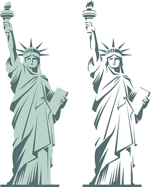 Liberty statue clipart 2 » Clipart Station.