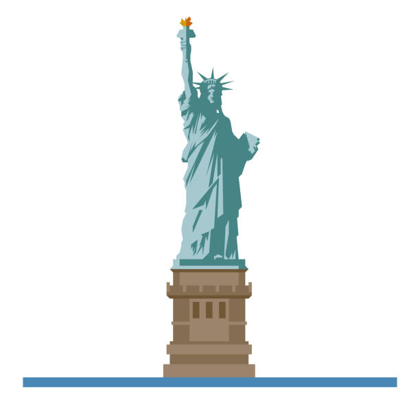 Best Statue Of Liberty Illustrations, Royalty.