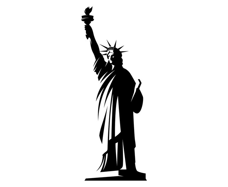 Collection of Statue of liberty clipart.