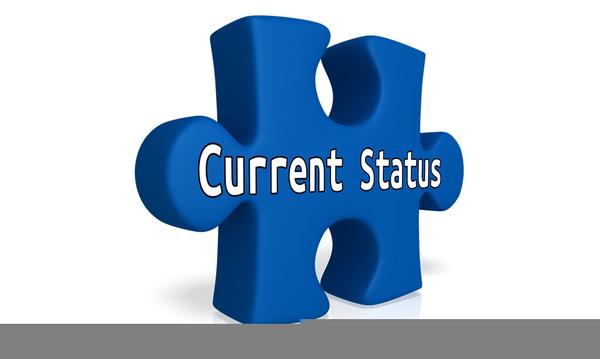 Current Status Clipart.