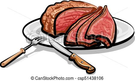 Cooked steak clipart 2 » Clipart Station.