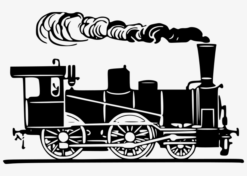 Steam Clipart Steam Engine.