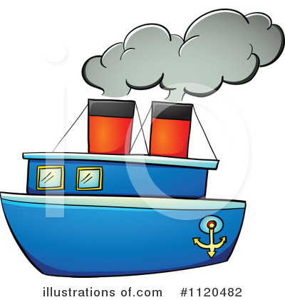 Steamboat Clipart #1259950.