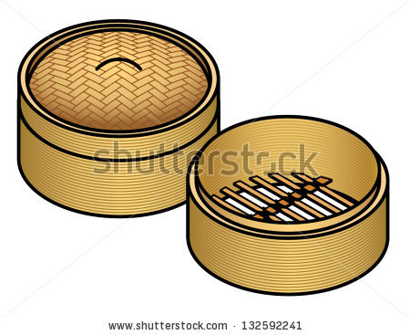 Bamboo Steamer Stock Images, Royalty.