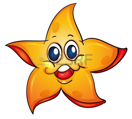 Illustration Of A Sea Star Royalty Free Cliparts, Vectors, And.