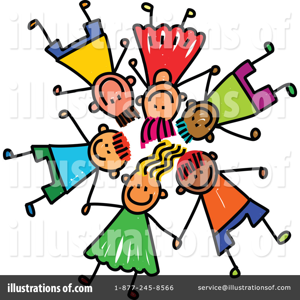 Stick Children Clipart #1257762.