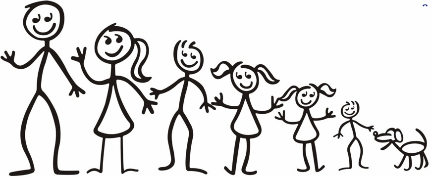 Free Stick Figure Family, Download Free Clip Art, Free Clip.