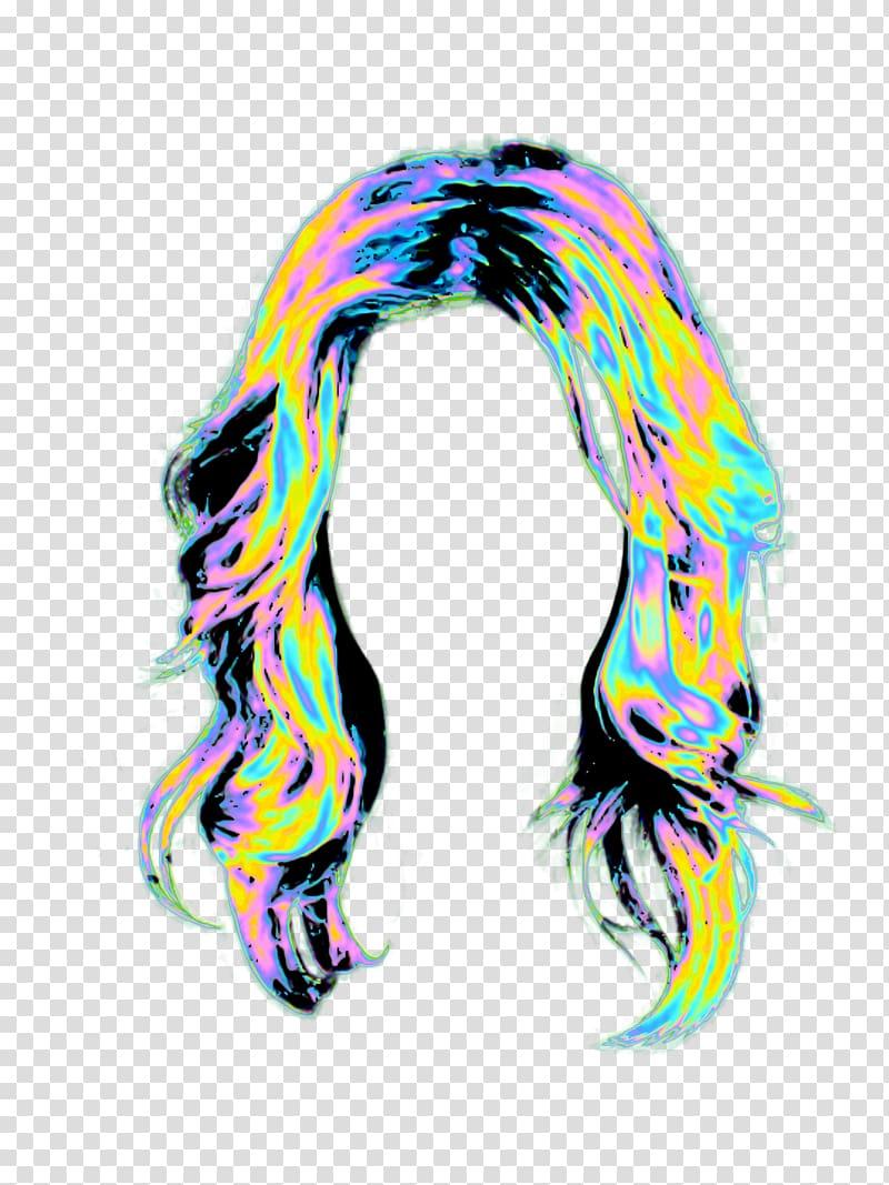 PicsArt Studio Wig Selfie Holography Hair, hair style.