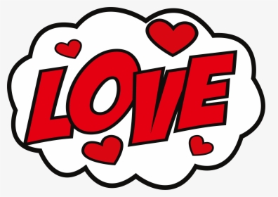 Clipart Love Sticker.