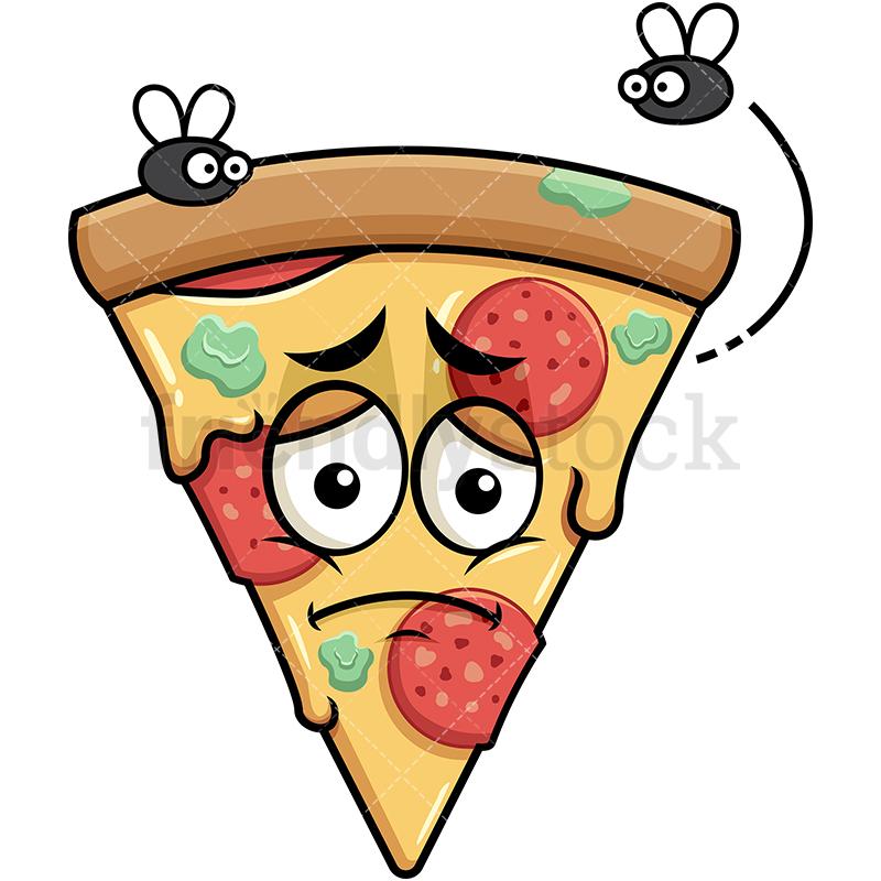 Stinky Pizza Going Bad Emoji.