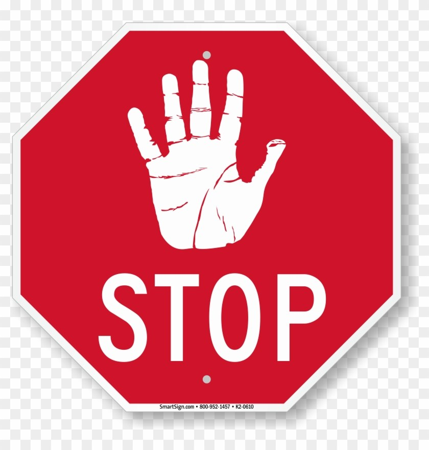 Stop hand sign clipart 1 » Clipart Portal.