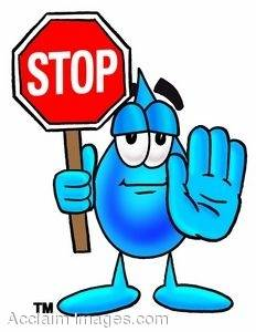 Hand Stop Sign Clip Art (5008).