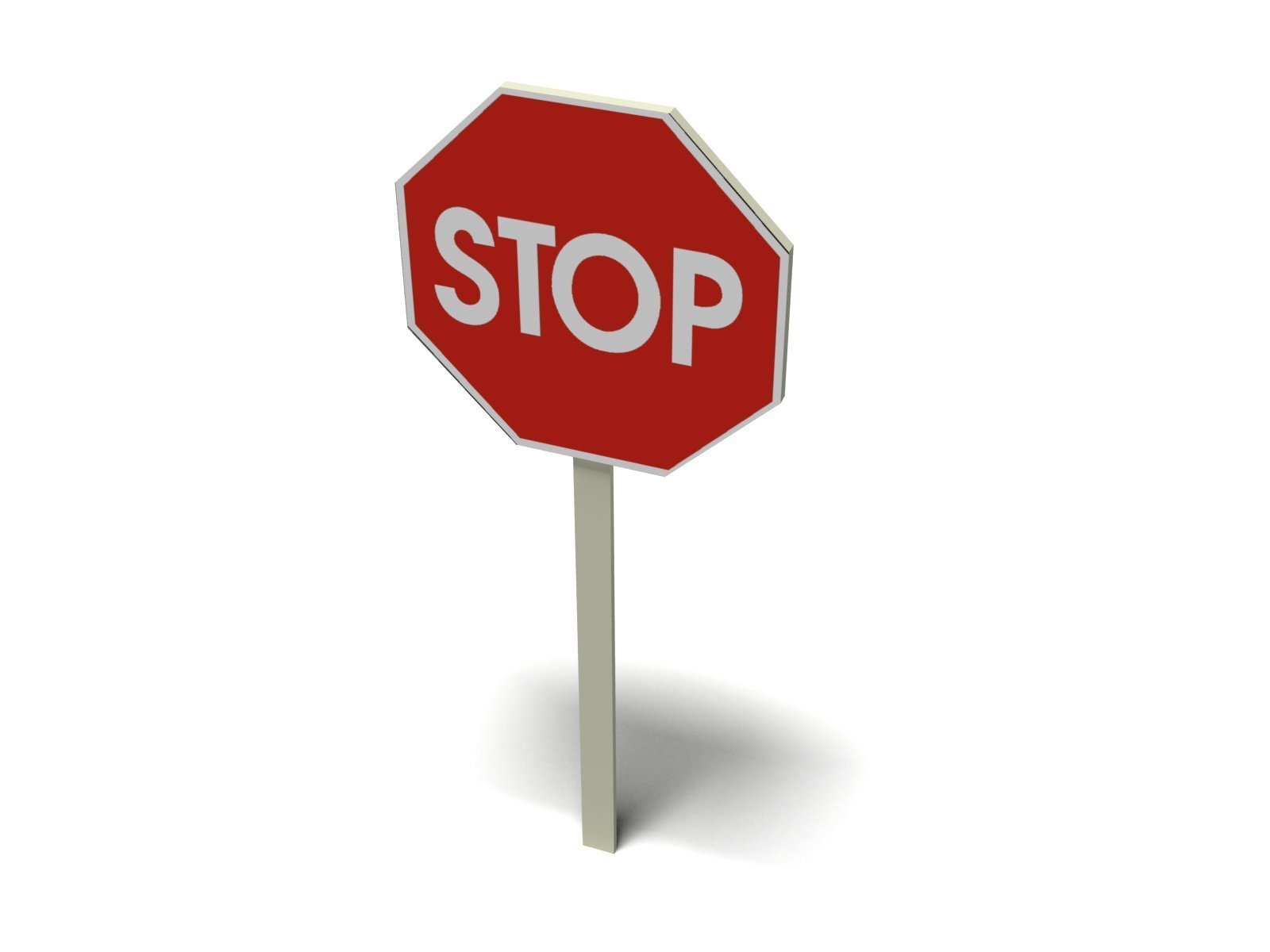 Stop sign image clipart 2.