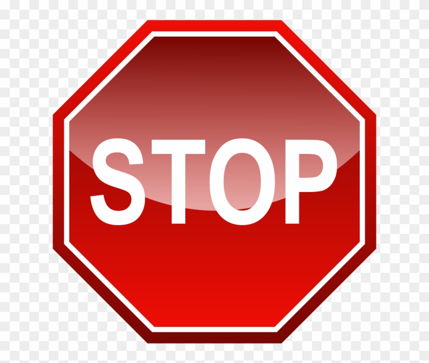 Stop Signal Free Vector.