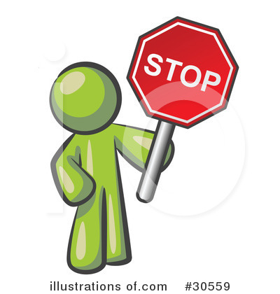 Stop Sign Clipart #30555.