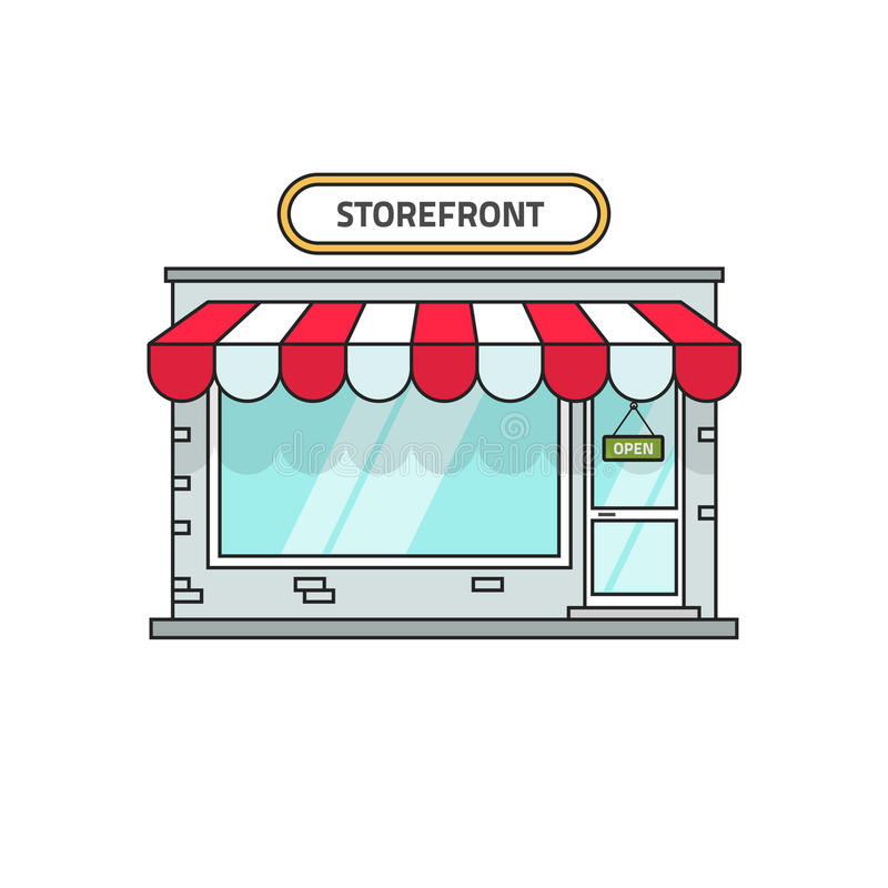 Clipart Storefront Stock Illustrations.