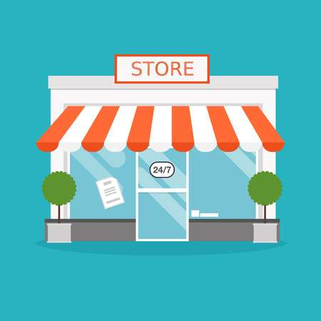 11,468 Storefront Stock Vector Illustration And Royalty Free.