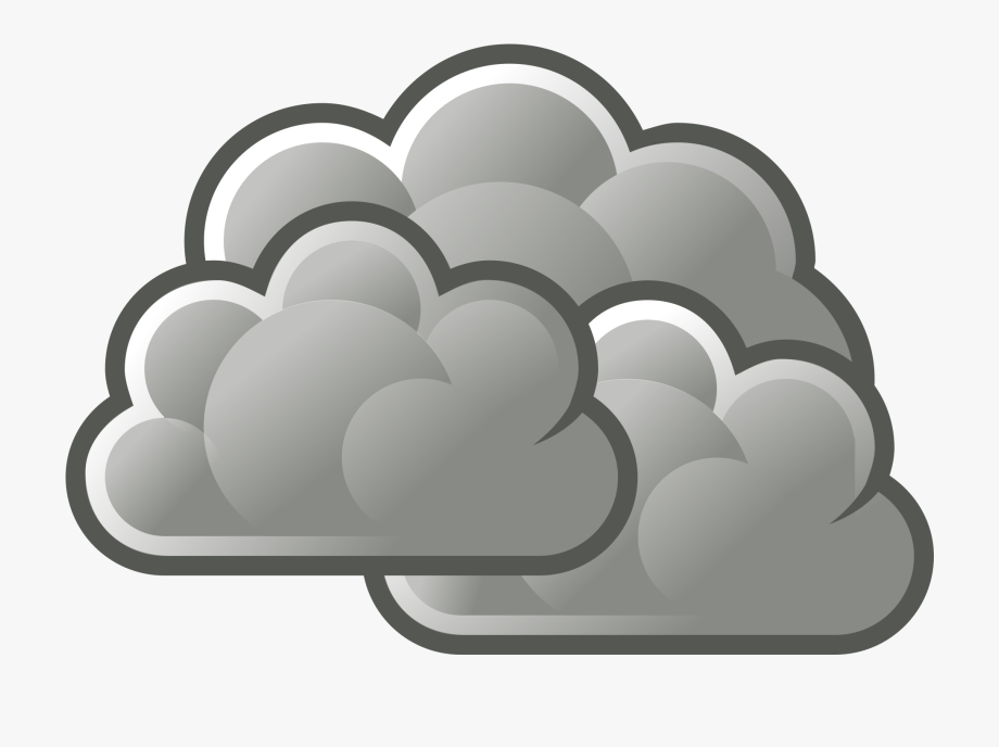 Its Cloudy Clipart.